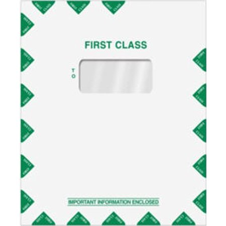 First Class Mail Envelope with Single Window, 100 Envelopes First Class Window Envelopes