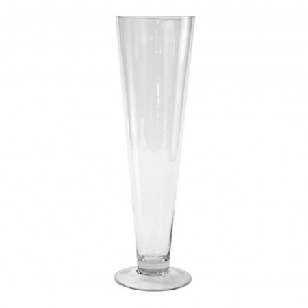 Koyal Wholesale Trumpet Glass Vase Set Of 6 Walmart