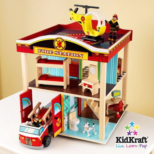 KidKraft 2010 Fire Station Play Set