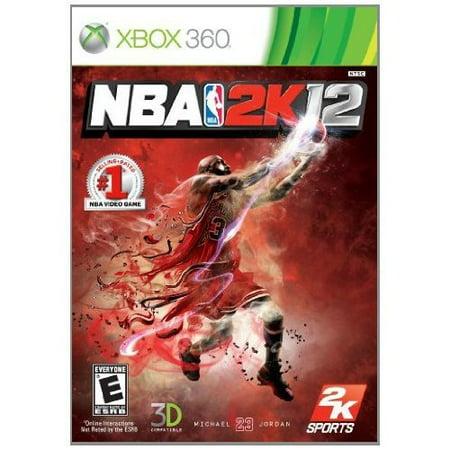 Refurbished NBA 2K12 For Xbox 360 Basketball