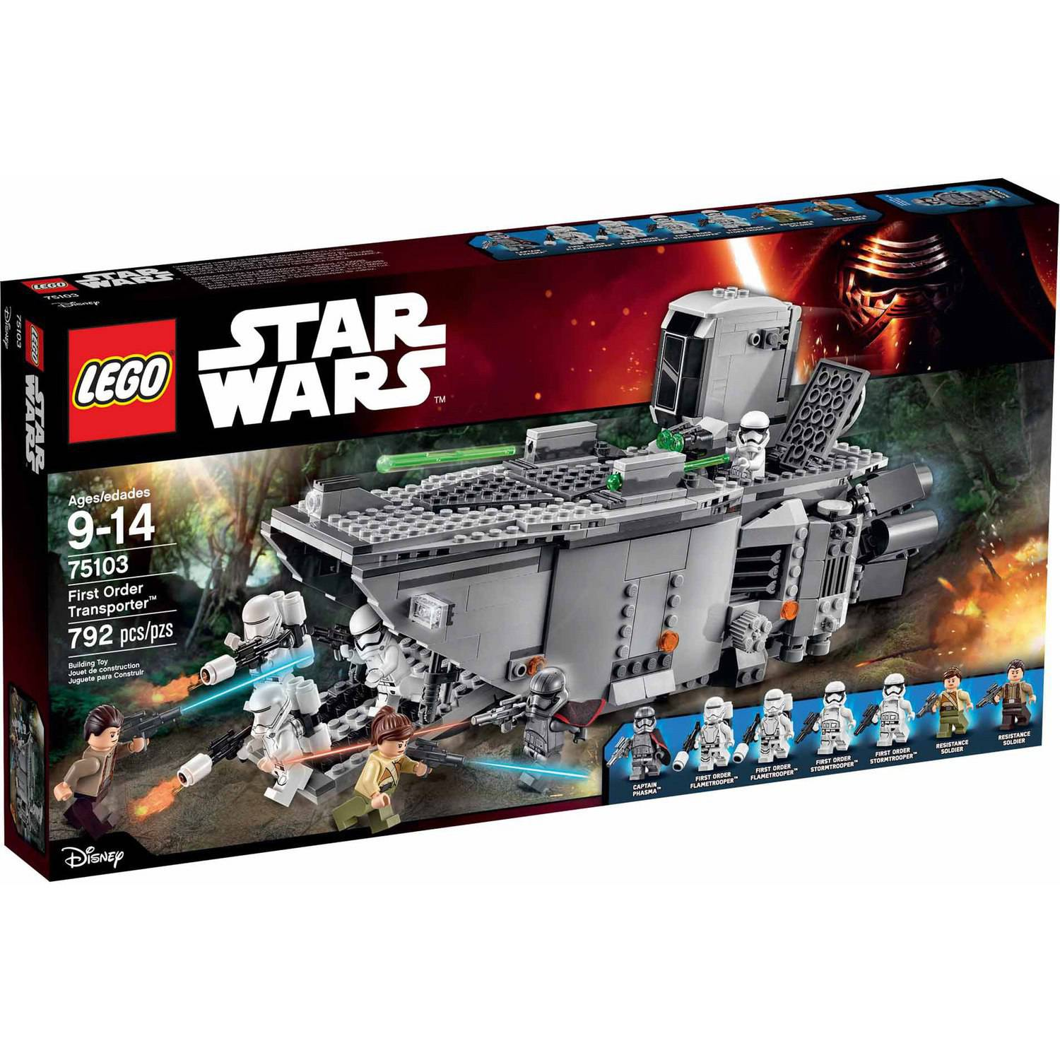 "LEGO Star Wars First Order Transporter"" 75103"