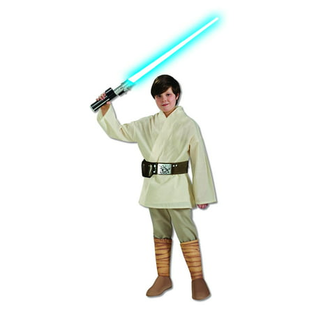 Luke Skywalker Halloween Costume Child (Boy's Deluxe Luke Skywalker Halloween Costume - Star Wars)