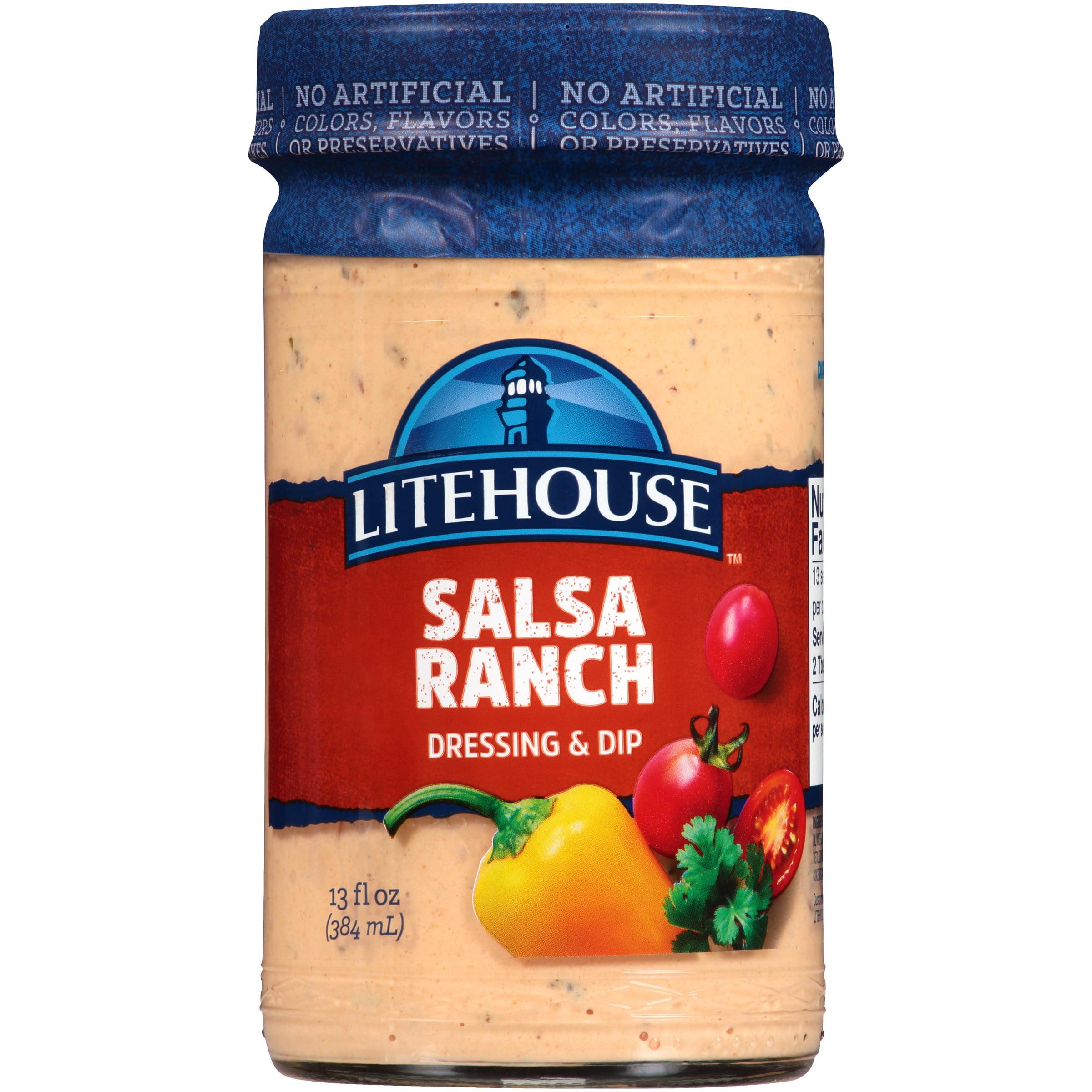 Litehouse™ Salsa Ranch Dressing & Dip 13 fl. oz. Jar