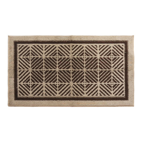 Attraction Design Home Brown/Cream Area Rug