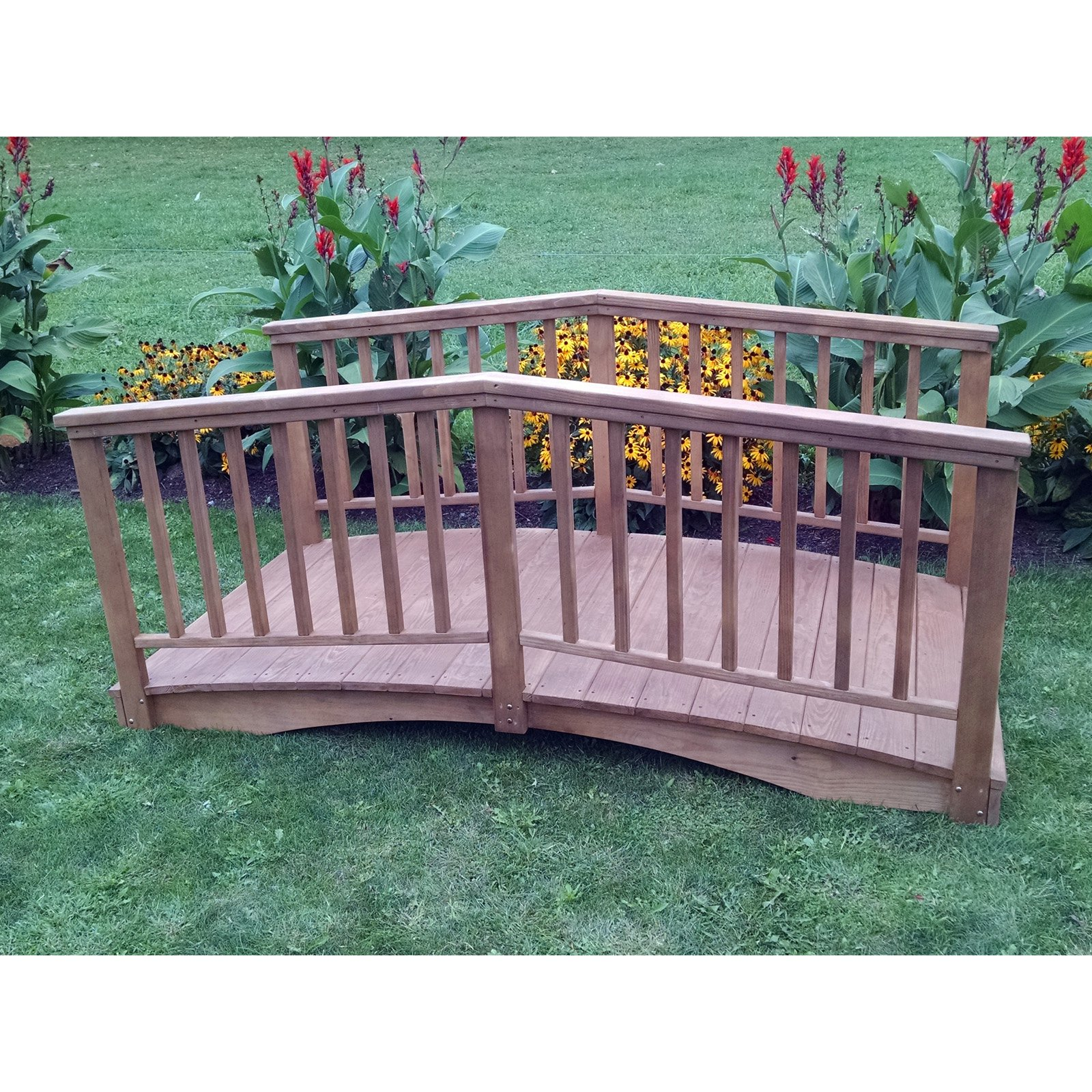A and L Furniture Cedar Baluster Bridge
