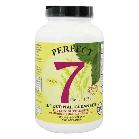 Agape Health Products Perfect 7  Intestinal Cleaner, 400 ea