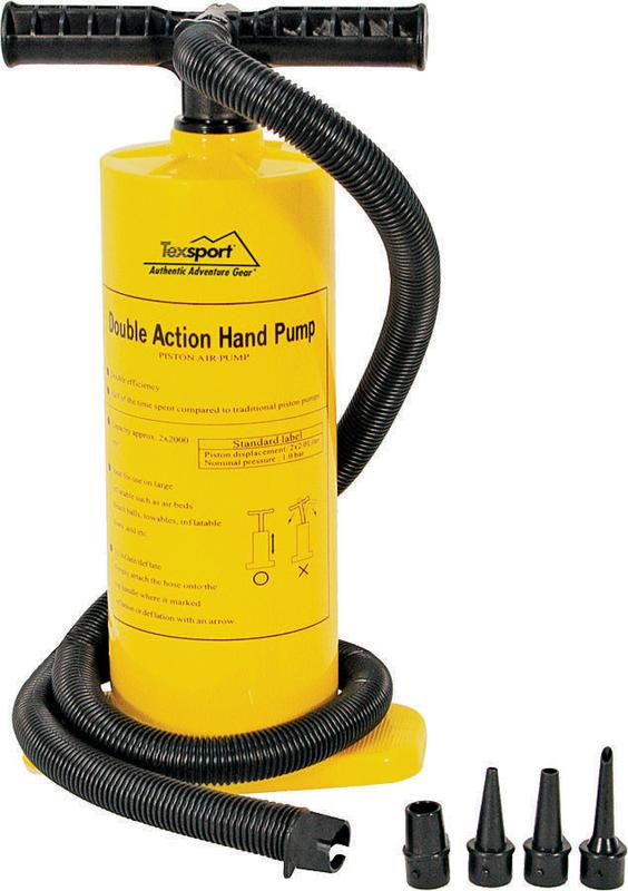 Texsport Double Action Hand Air Pump by Texsport Inc.