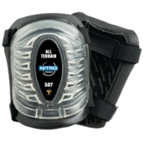 Heavy Duty All Terrain Knee Pads, Patented Cover And Padding Reduces Stress On Knees by Tommyco