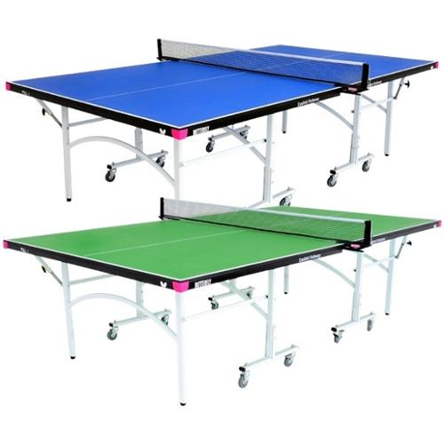 Butterfly Easifold 19 Rollaway Table Tennis Table Blue