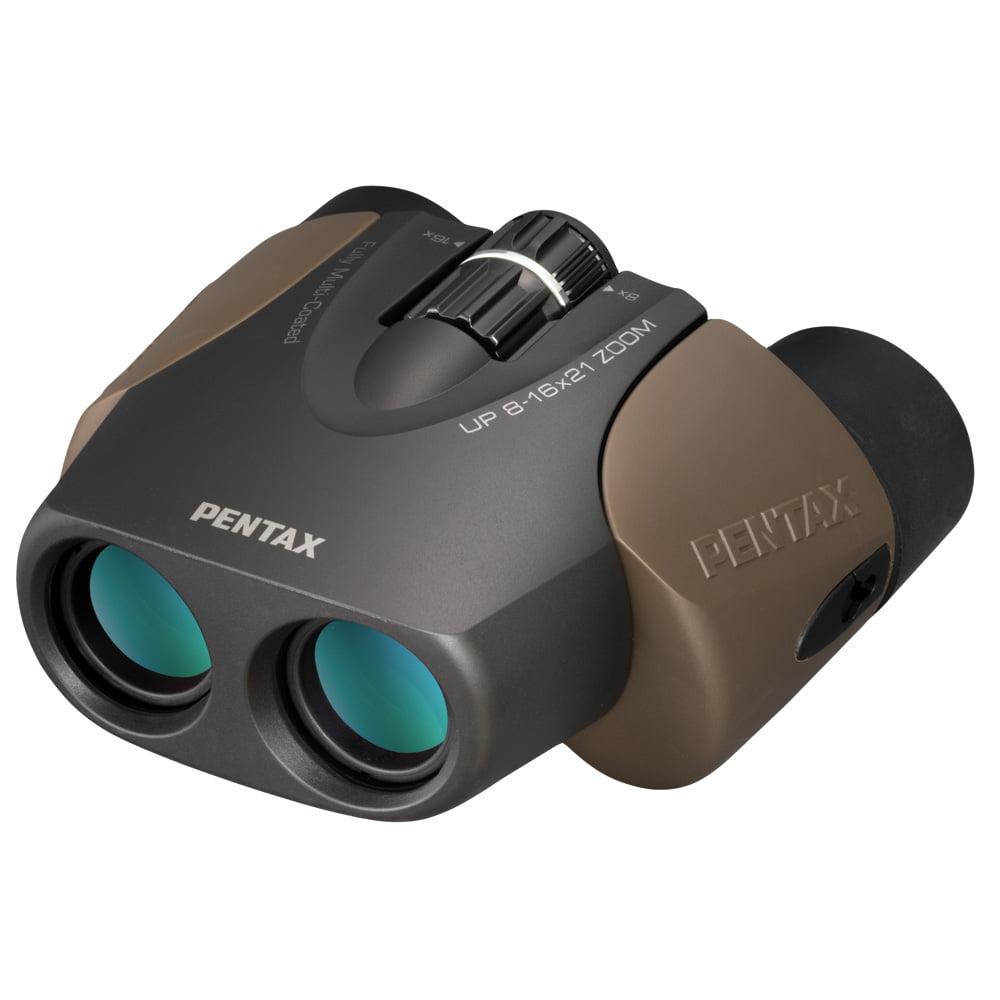 Pentax UP 8-16x21 Brown Binoculars Brown