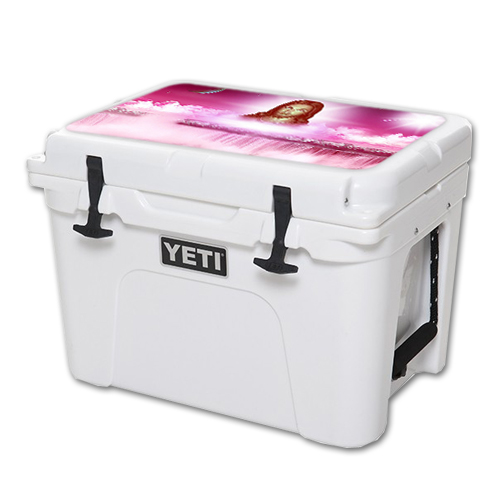 MightySkins Protective Vinyl Skin Decal for YETI Tundra 35 qt Cooler Lid wrap cover sticker skins Jesus