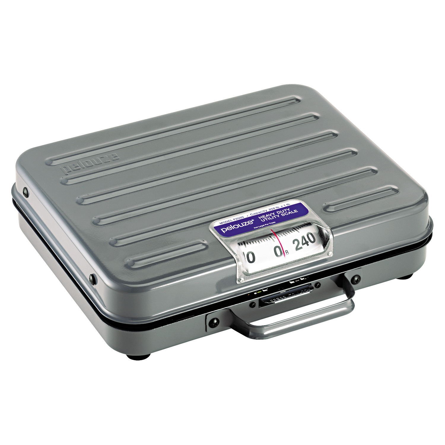 DYMO by Pelouze All-Purpose Mechanical Utility Scale, 250lb Capacity, 10-1/2 x 13-1/4 Platform