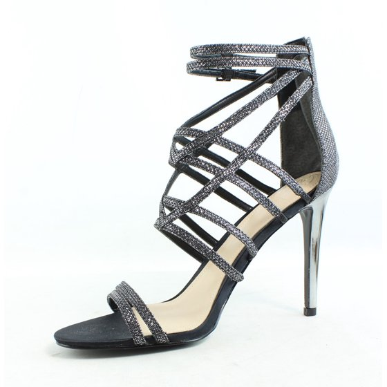c0b8c43e4c0 GUESS - New GUESS Womens Gwpretier5 Pewter Sandals Size 9.5 ...