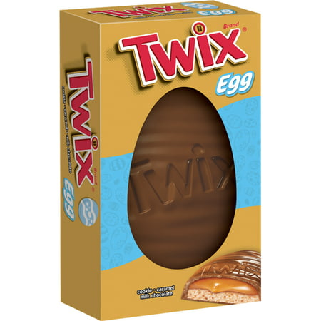Twix Caramel Cookie Chocolate Easter Egg Candy, 5 Oz.