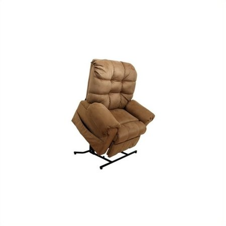 Catnapper Omni Power Lift Full Lay-Out Chaise Recliner Chair in Thistle