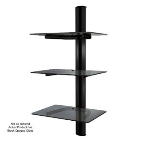 Crimson Wa3 Triple Shelf Wall System With Cable Management
