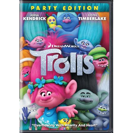 Trolls (Party Edition) (DVD) - Trollz The Movie