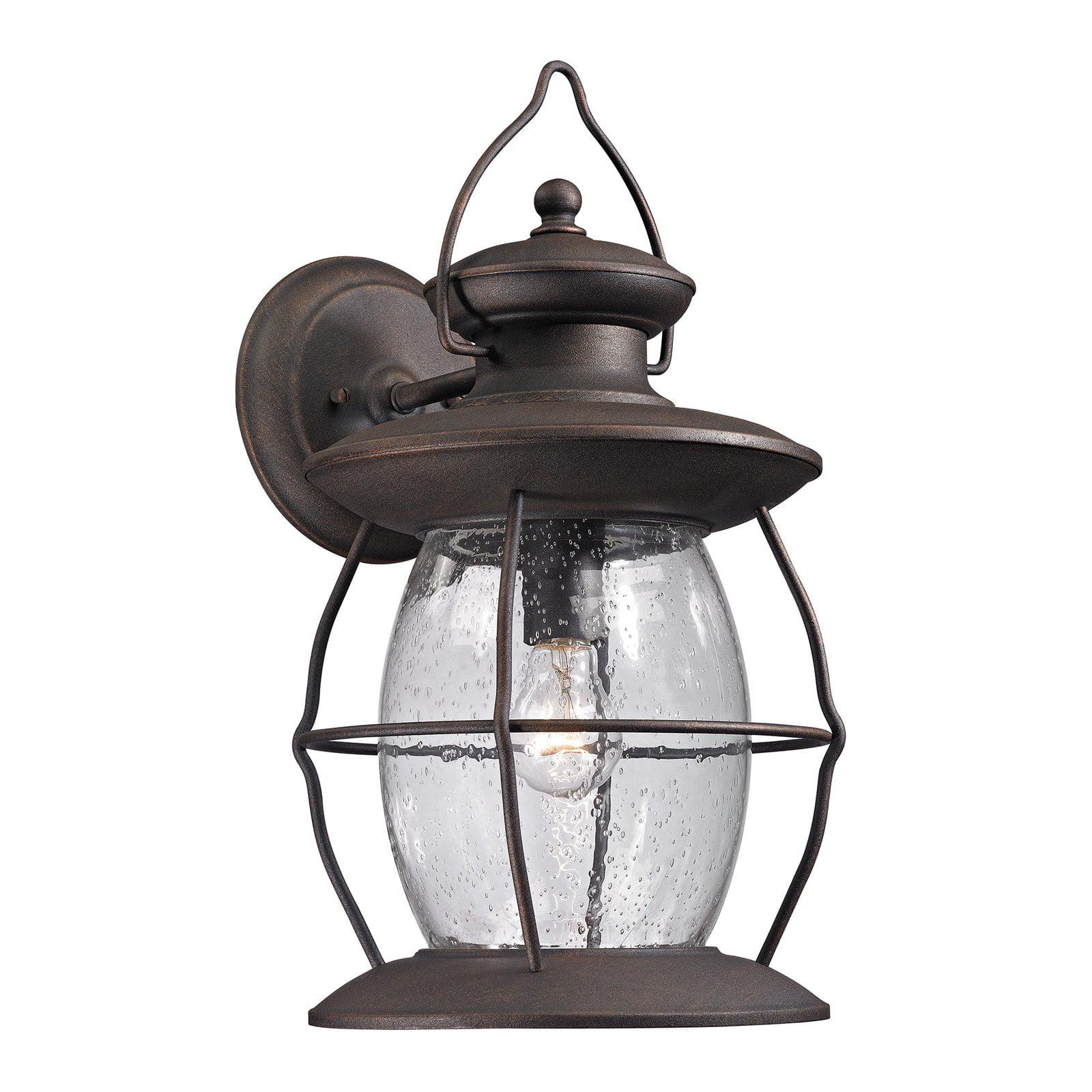 ELK Lighting Village Lantern 47044 1 1-Light Outdoor Wall Sconce by Elk Lighting