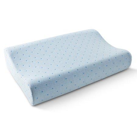 Arctic Sleep By Pure Rest Cool Blue Memory Foam Contour