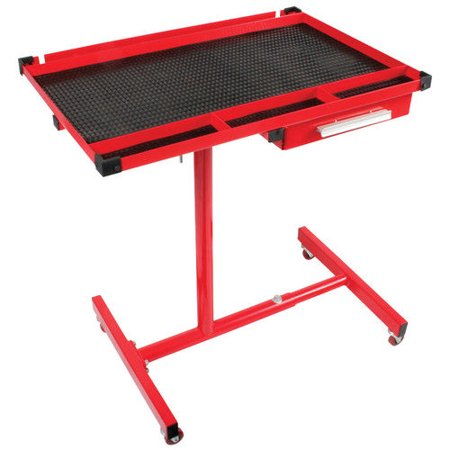 (Sunex 8019 Heavy-Duty Adjustable Work Table with Drawer)