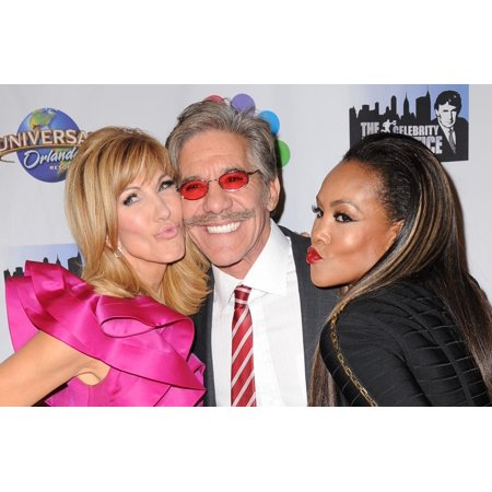 Leeza Gibbons Geraldo Rivera Vivica A Fox In Attendance For The Celebrity Apprentice Season Finale Post-Show Red Carpet Trump Tower New York Ny February 16 2015 Photo By Kristin CallahanEverett