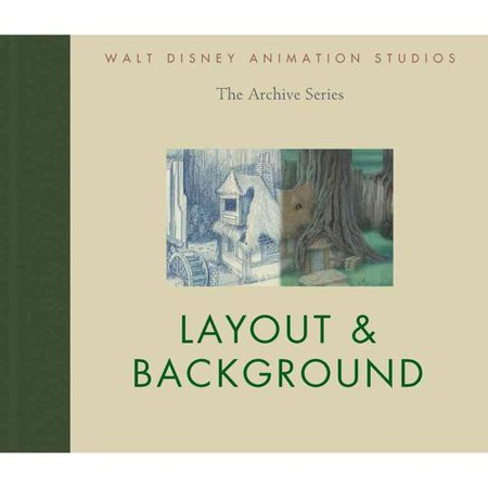 Walt Disney Animation Studios The Archive Series  Layout   Background