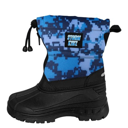 Storm Kidz Unisex Cold Weather Snow Boot (Toddler/Little Kid/Big Kid) MANY COLORS Best Freeride Ski Boots