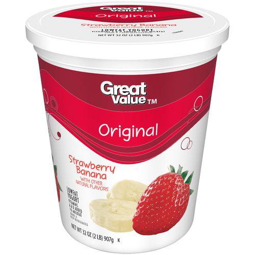 Yogurt, lowfat, plain, Greek