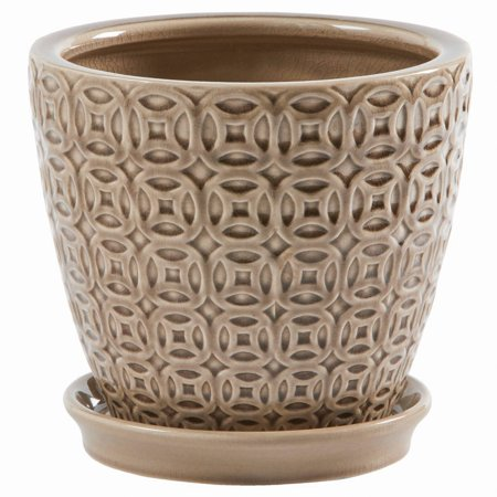 Better Homes And Gardens 8 Planter Beige