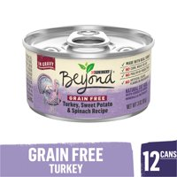 (12 Pack) Purina Beyond Grain Free Gravy Wet Cat Food, Grain Free Turkey Recipe, 3 oz. Cans
