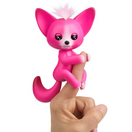 Fingerlings - Interactive Baby Fox - Kayla (Hot Pink) By WowWee
