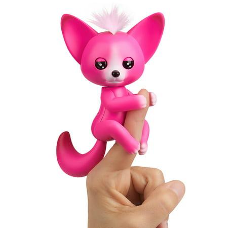 Fingerlings - Interactive Baby Fox - Kayla (Hot Pink) By WowWee
