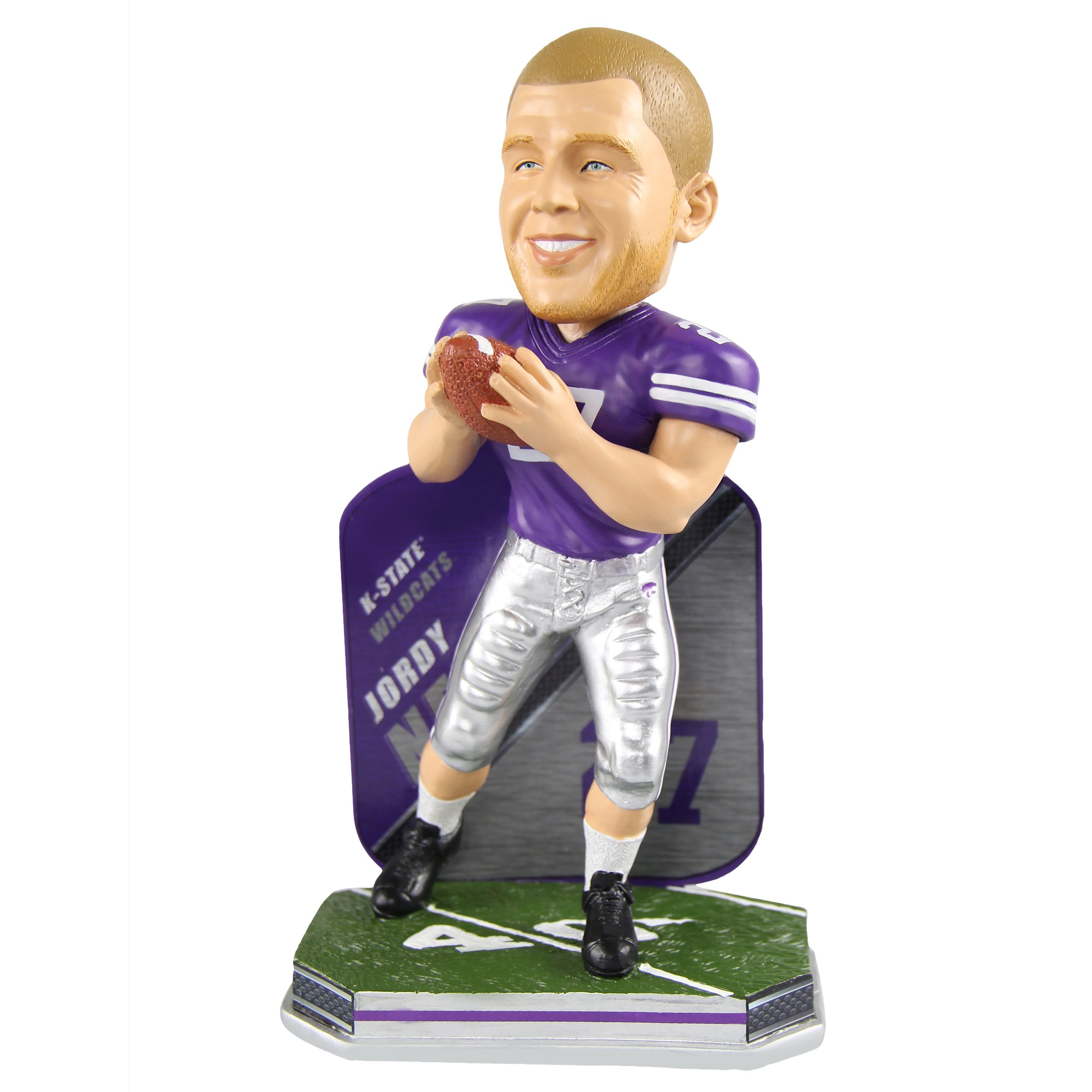 Jordy Nelson Kansas State Wildcats Special Edition College Bobblehead NCAA