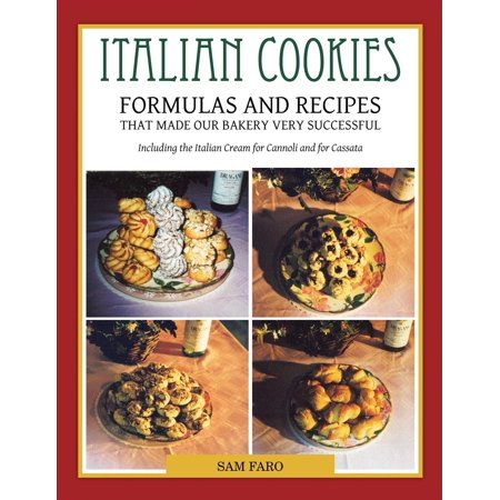 Italian Cookies and American Cookies Also Italian Cream to Fill Connoli -