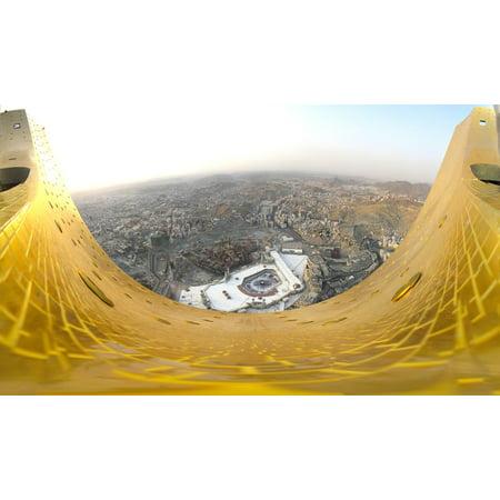 LAMINATED POSTER City Landscape Cities Urban Saudi Arabia Makkah Poster Print 24 x 36