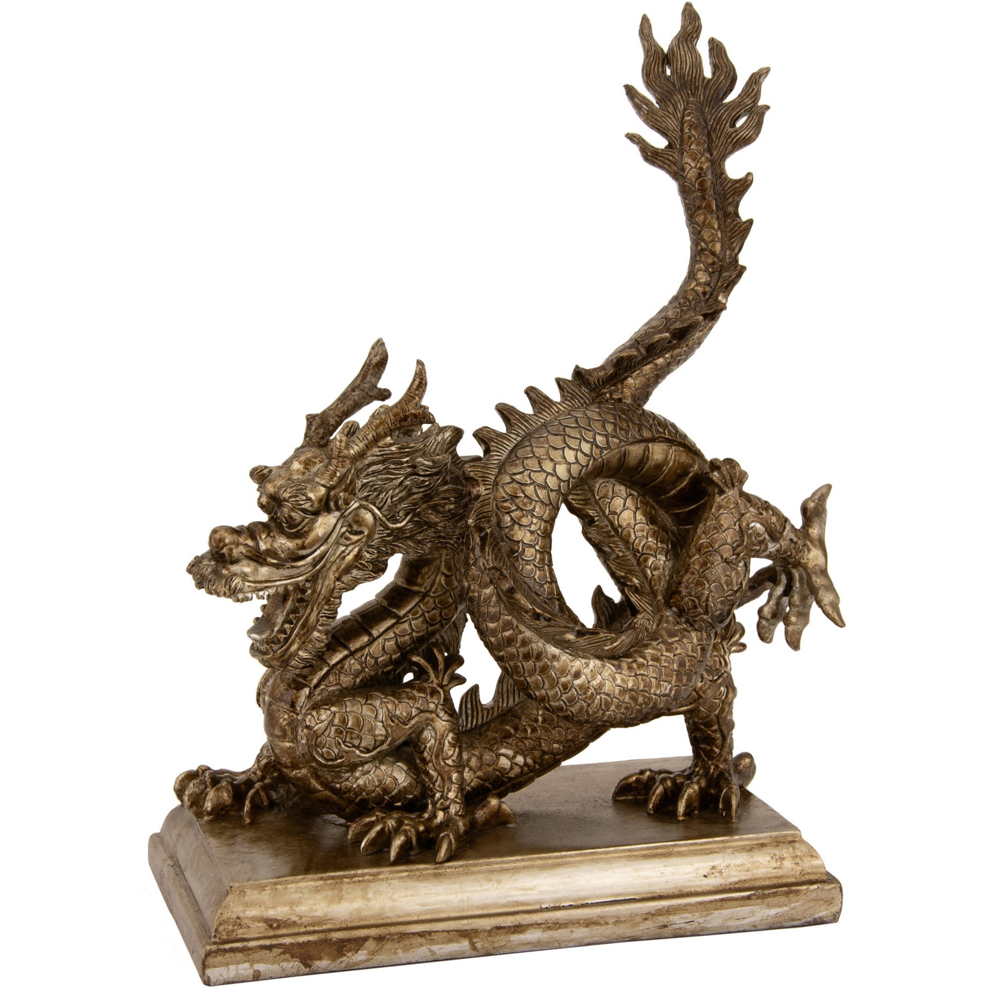 "11"" Chinese Dragon Statue"