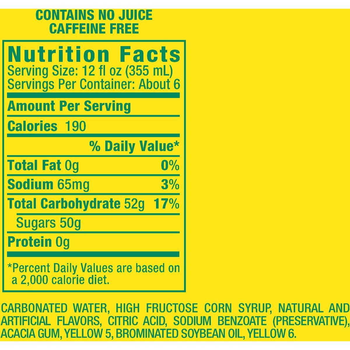 Crush Caffeine-Free Pineapple Soda, 2 L
