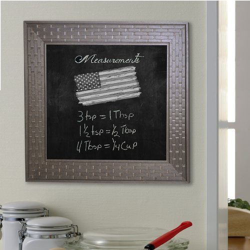 Rayne Mirrors Bricks Wall Mounted Chalkboard