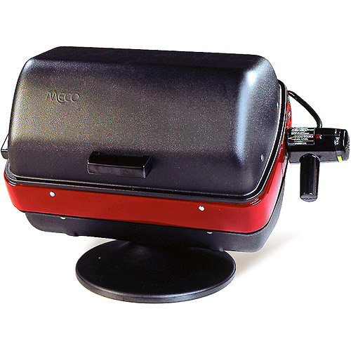 Meco Easy Street Deluxe Table Top 1500-watt Apartment, Condo, RV, Backyard, Electric Outdoor BBQ Grill with 3-Position Element for Sear, Warm, and Even Heat Zones