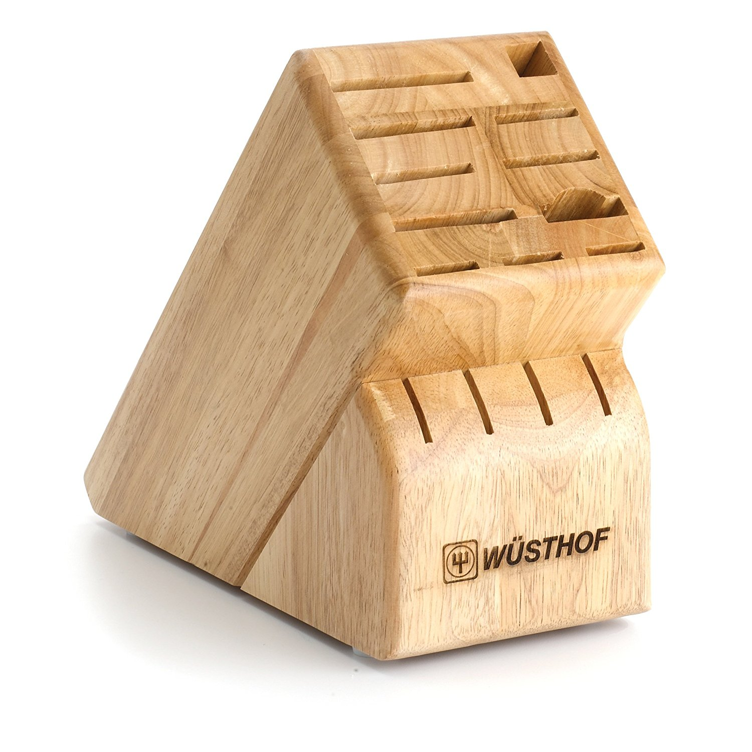 15-Slot Knife Block Finish: Natural, Ship from USA,Brand Wüsthof by