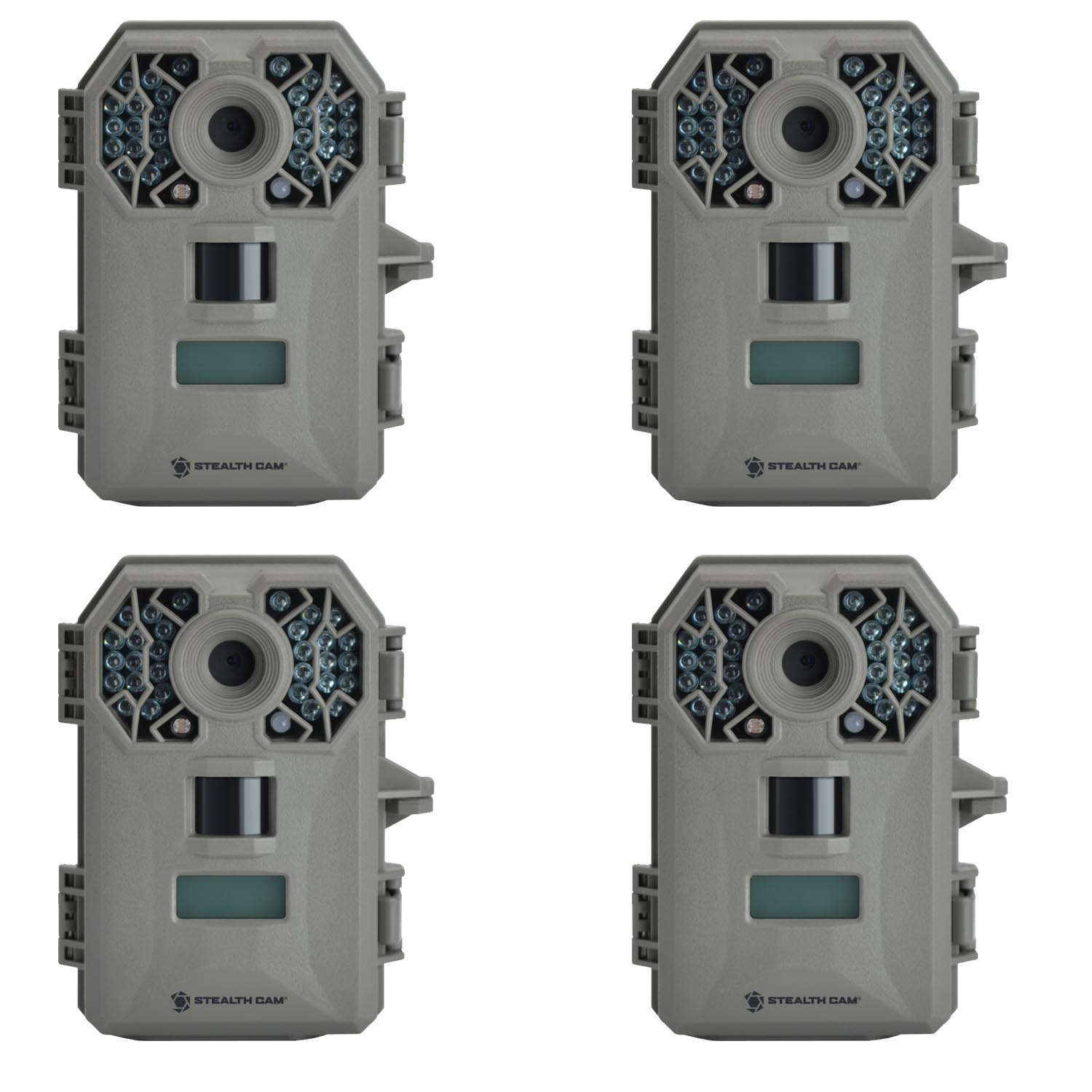Click here to buy (4) Stealth Cam G30 TRIAD Technology Equipped Digital Trail Game Camera 8MP | STC-G30 by Stealth Cam.