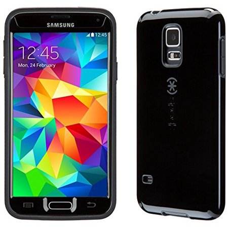 Speck SPK-A2876 CandyShell + FACEPLATE Case for Samsung Galaxy S5 - Black/Slate