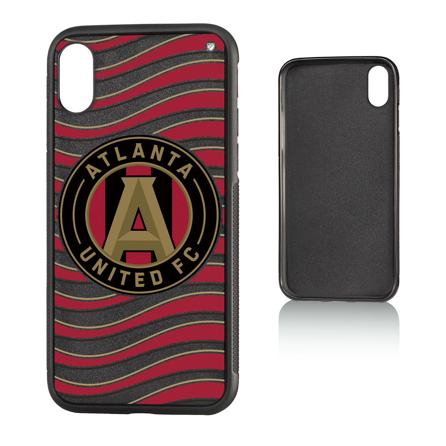 Atlanta United FC ATLUTD Wave Bump Case for iPhone X