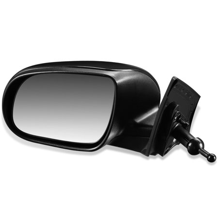For 2010 to 2011 Kia Rio 5 OE Style Manual Driver / Left Side View Door Mirror Replacement 876101G002