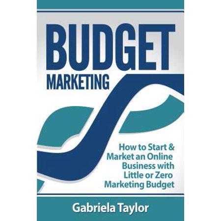 Budget Marketing: How to Start & Market an Online Business with Little or Zero Marketing Budget - (Best Budget Zero Turn)
