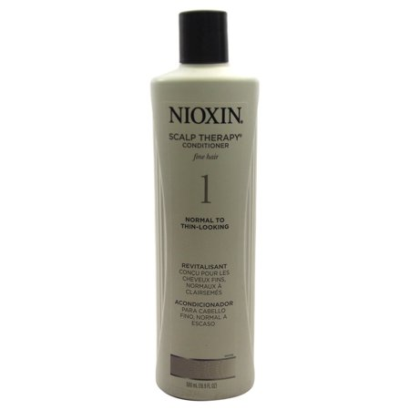 Nioxin System 1 Scalp Therapy Conditioner For Fine Hair Normal To Thin-Looking, 16.9 (Clear Scalp And Hair Therapy Ultra Shea)
