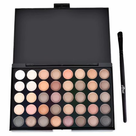 Akoyovwerve Mini Eyeshadow Palette Makeup, Eyeshadow Eye Shadow Palette Makeup Kit Set (40 Color) - Halloween Eye Makeup Smokey