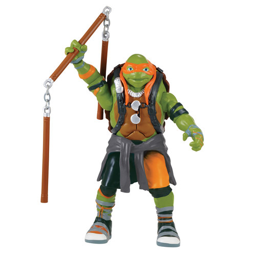 Teenage Mutant Ninja Turtles Out of the Shadows Deluxe Talking Michelangelo Figure