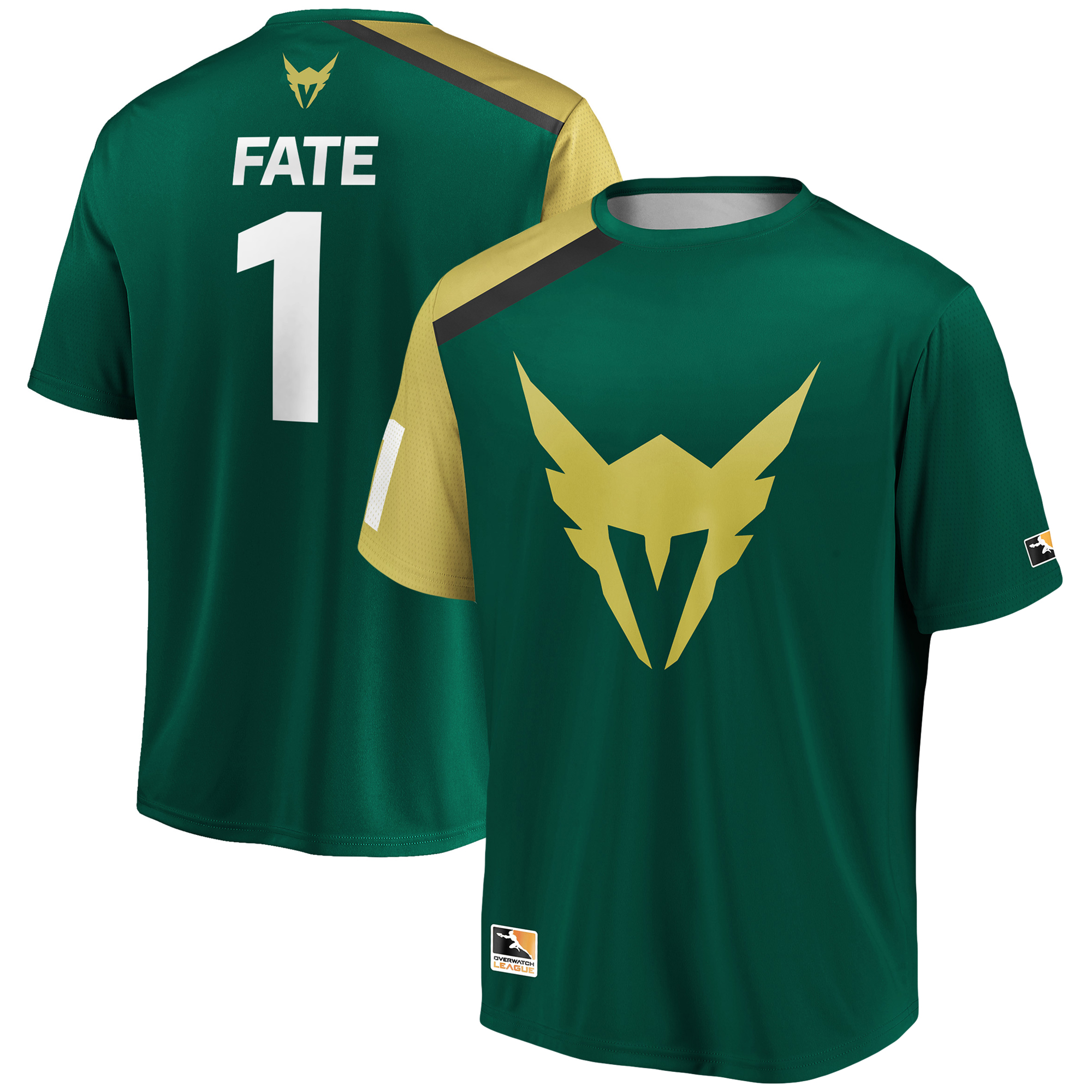 Fate Los Angeles Valiant Overwatch League Replica Home Jersey - Green