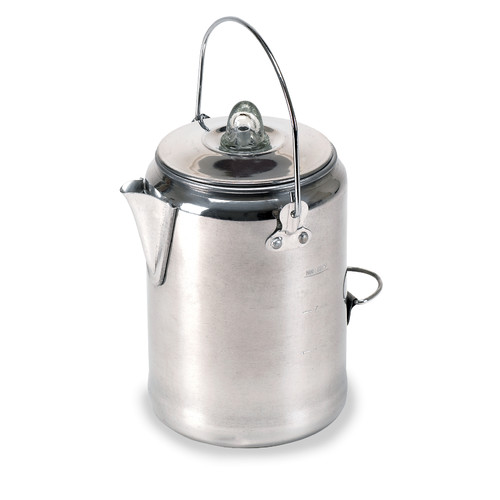 Aluminum Percolator Coffee Pot 20 Cup by Stansport, Inc